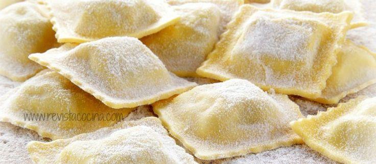 www.revistacocina.com Como hacer ravioles rellenos de carne