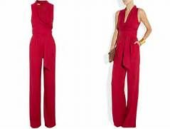 Innovative Strapless Jumpsuit For Women Women39s Red Jumpsuits Online In India