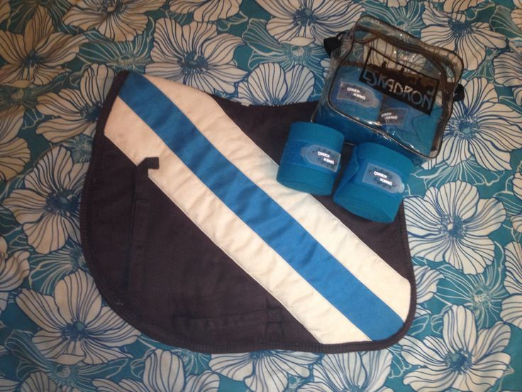 Eskadron Bandages Cyan 2015 Harrys Horse Triple Saddlepad