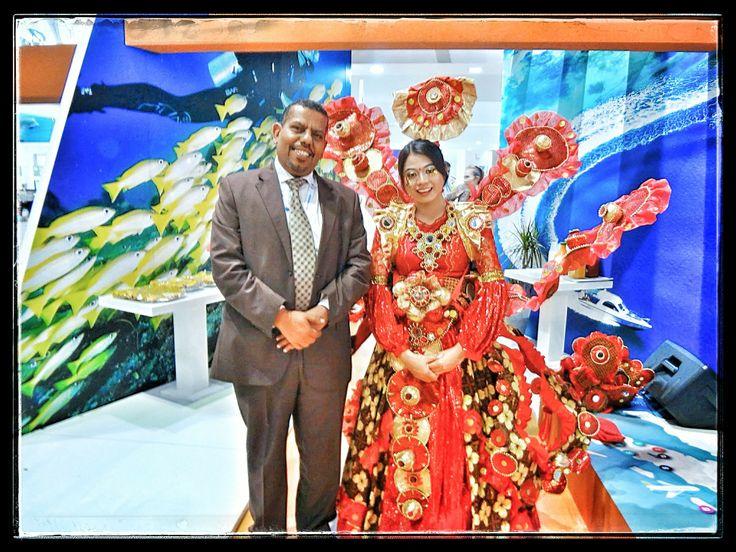 Indonesia Pavilion ATM Dubai Exhibition