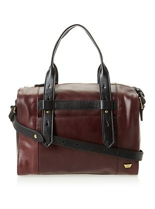 59% OFF IIIBeCa Women's Top Handle Satchel (Merlot)