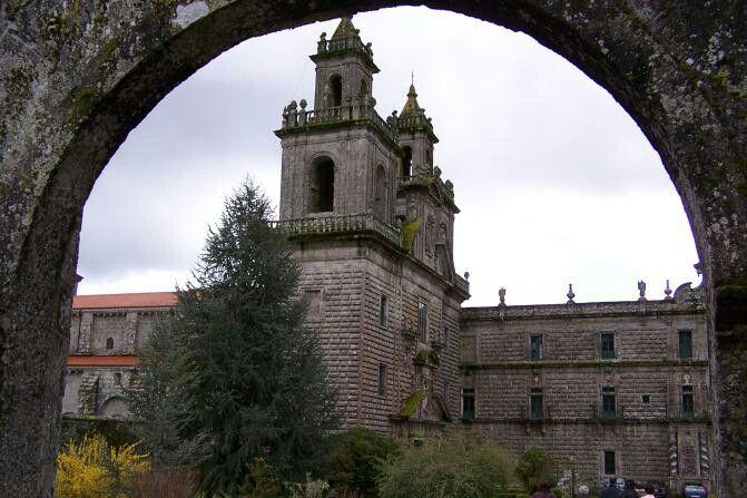 Monasterio de Mosteiro de Oseira. Orense. Spain.