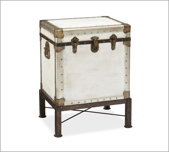 Ludlow Trunk Side Table | Pottery Barn