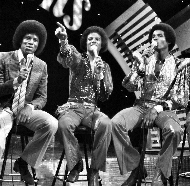 Jermaine, Michael & Jackie Jackson