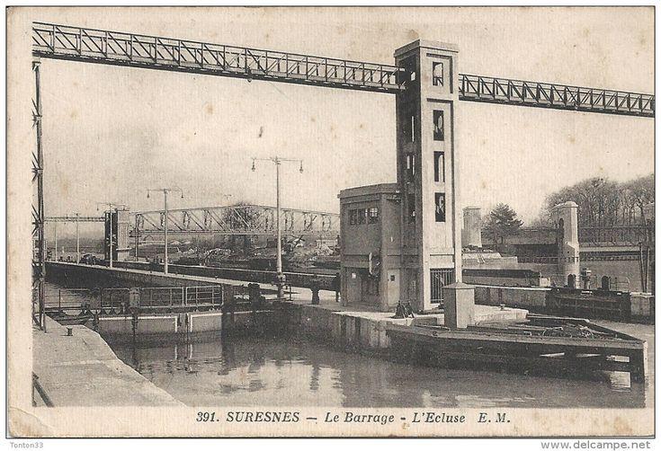 SURESNES - 92 - Le Barrage - L'Ecluse - ENCH - - Suresnes