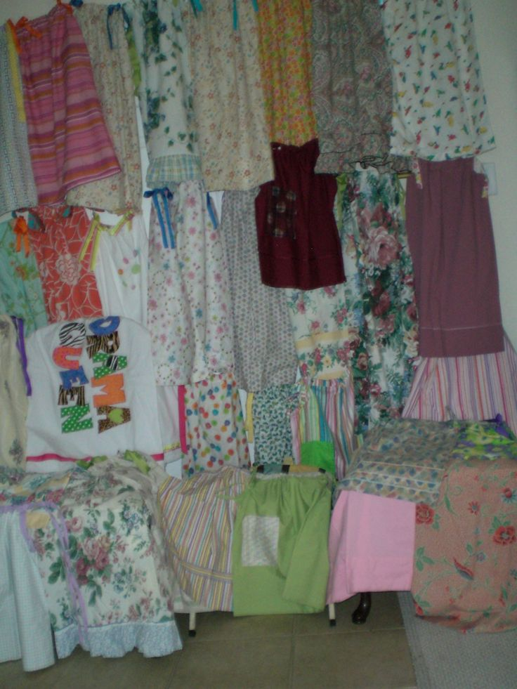 Aug 2013 Sent 338 Pillowcase Dresses To Orphanage In