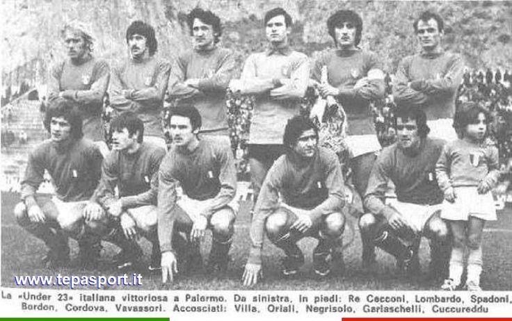 24-2-1973  Italia Under 23 - Turchia Under 23 1-0  ⚽️ C'ero anch'io ... http://www.casatepa.it/ 🇮🇹 Made in Italy dal 1952
