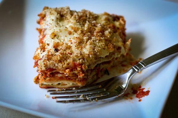 Vegan gluten-free lasagne from Recipe Renovator