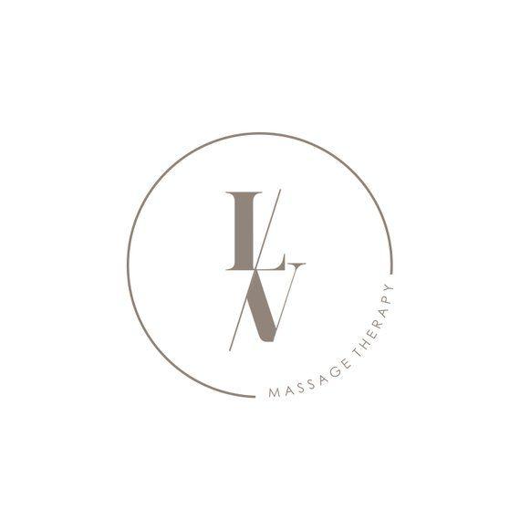 Pre-made Logo - Minimalist Logo - Initials Logo - Monogram Initials - Simple Logo Design - Circular Logo Design - Typography Logo - Classic