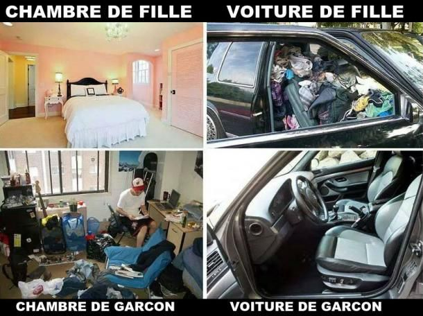 Difference homme femme