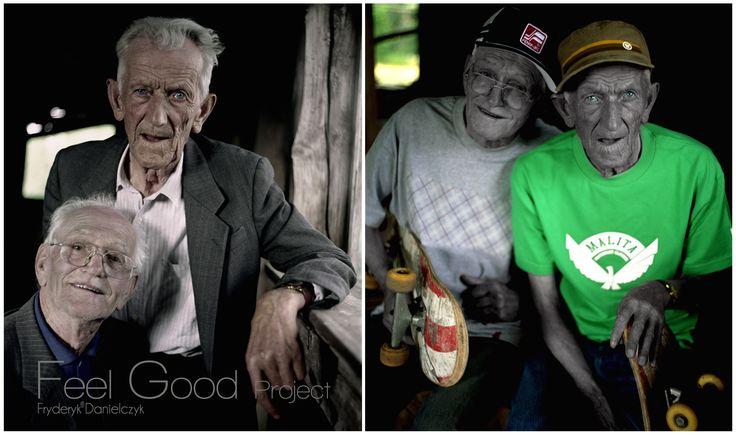 Advertising.     Feel Good Project. Typography by Fryderyk Danielczyk. Made from a negative. www.fryderykdanielczyk.com www.artandlaw.pl