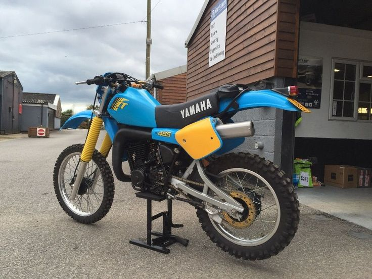 1982 Yamaha IT465 Enduro Classic 2 Stroke Vinduro