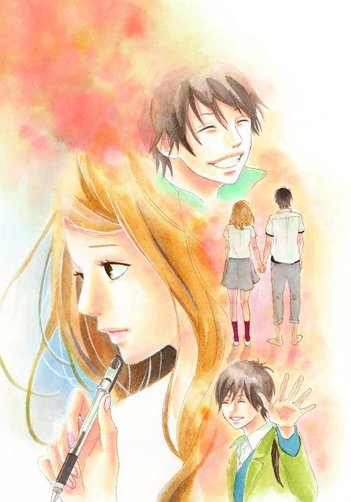 Orange Takano Ichigo Manga Shoujo http://orange-takanoichigo.tumblr.com/artwork