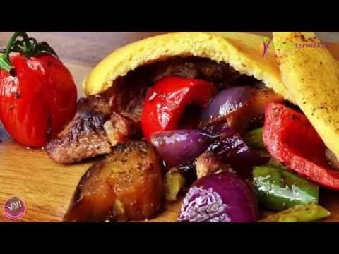Paleo gyros pita készítése egyszerűen (light paleo Szafi Fitt) - YouTube