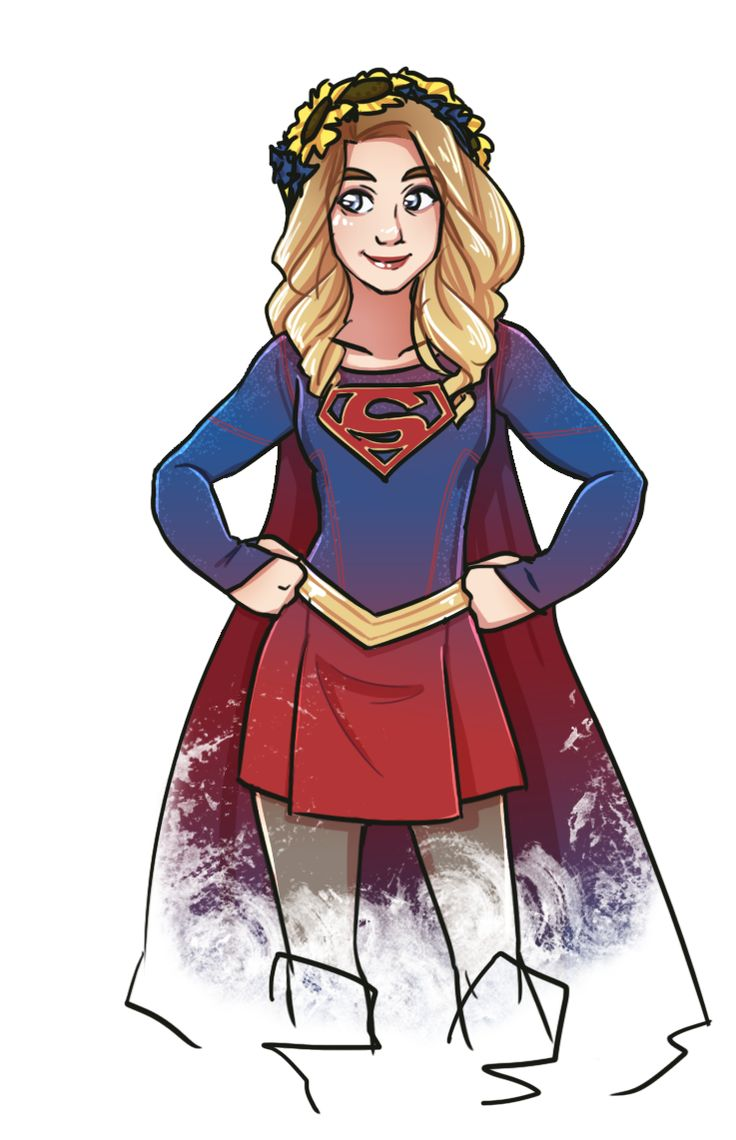 flower crown supergirl by magical playlist