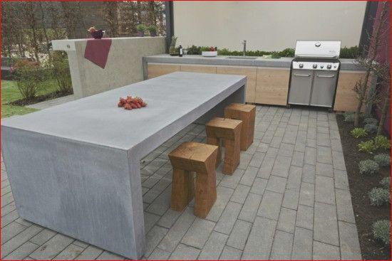 41 Tolle Beton Tisch Garten Konzept Tisch Betontisch Gartentisch