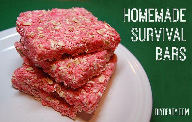 Homemade Survival Bars: Recipe shows you how to make them