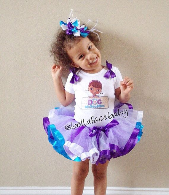 Doc McStuffins Birthday Outfit // Doc McStuffins by bellafacebaby, $53.00