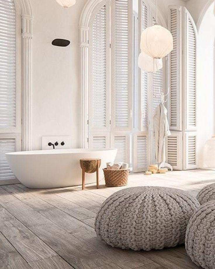 Meer dan 1000 idee n over houten vloer badkamer op pinterest badkamer grijze badkamers en vloeren for Houten lambrisering in de badkamer