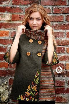 ethno style coat https://www.facebook.com/fashion.from.ukraine