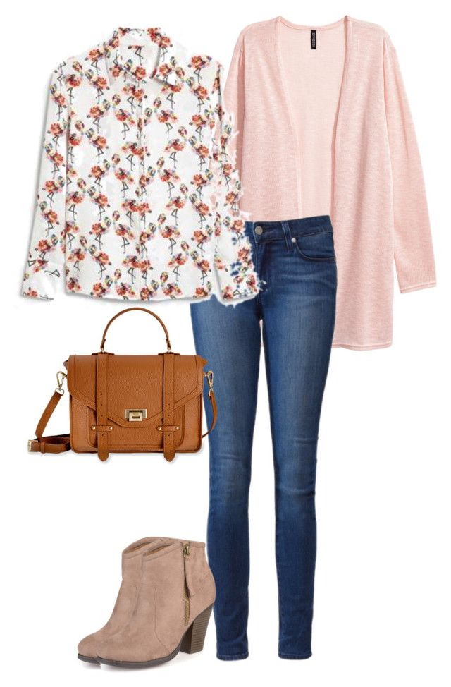 """Office Casual #162"" by amooshadow on Polyvore featuring Paige Denim, Ally Fashion, Journee Collection and GiGi New York"