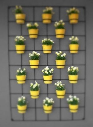cement wall hanging planters | Wall planters. #wall #planter by ANGRAMANYU