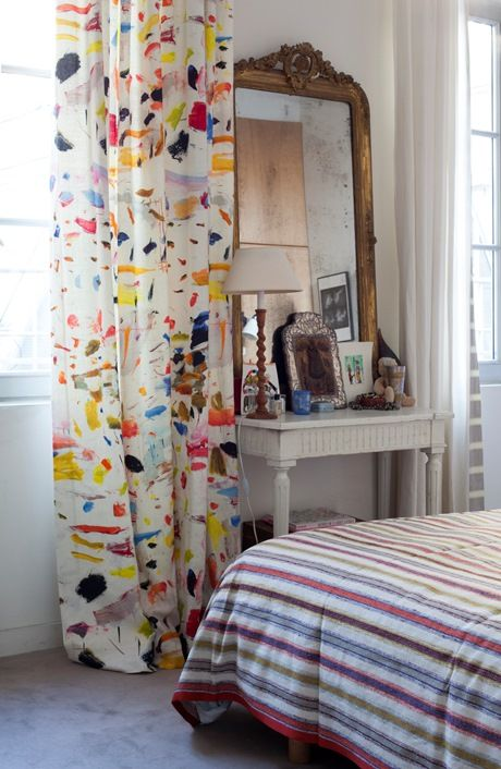 Arty Linen by Pierre Frey | The Neo-Traditionalist | Bloglovin'