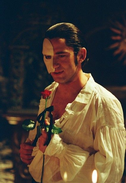 Gerard Butler as the Phantom of the Opera... honestly, who wouldn't choose him over Patrick Wilson (Raoul)