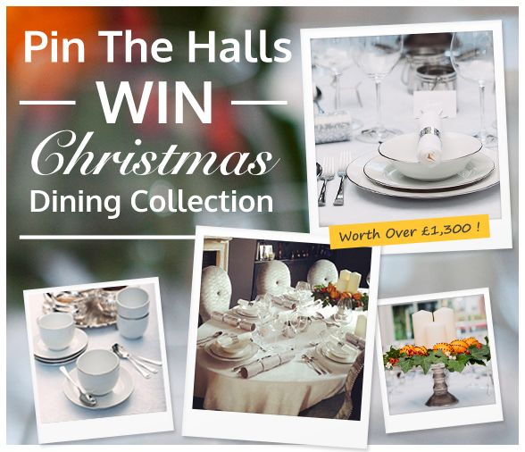 Re-pin this competition pin to your very own 'Perfect Christmas' board & to be in with a chance of winning our stylish festive table! For more information on how to enter read our latest blog post - http://blog.casafina.com/lifestyle/competition-win-entire-christmas-table/