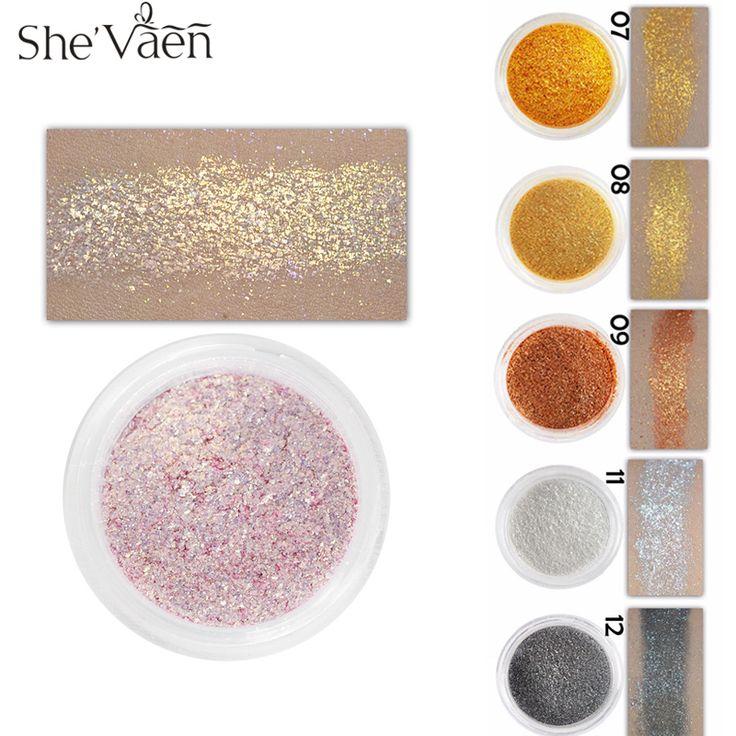 Loose Diamond Eyeshadow Pigment Eye Shadow Palette Make Up Waterproof  Shimmer Powder Pigment