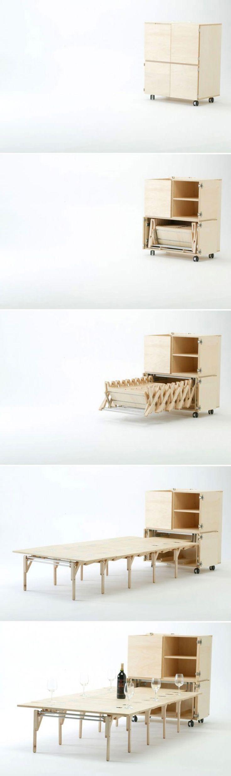 Tavolo allungabile dal design moderno n.16