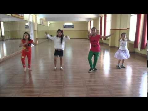 ▶ Learn Bhangra dance steps for kids by Rockstar academy chandigarh india - YouTube