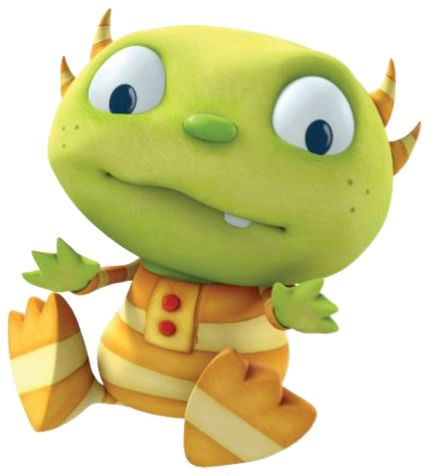 Cartoon Characters: PNG pictures of Henry Hugglemonster