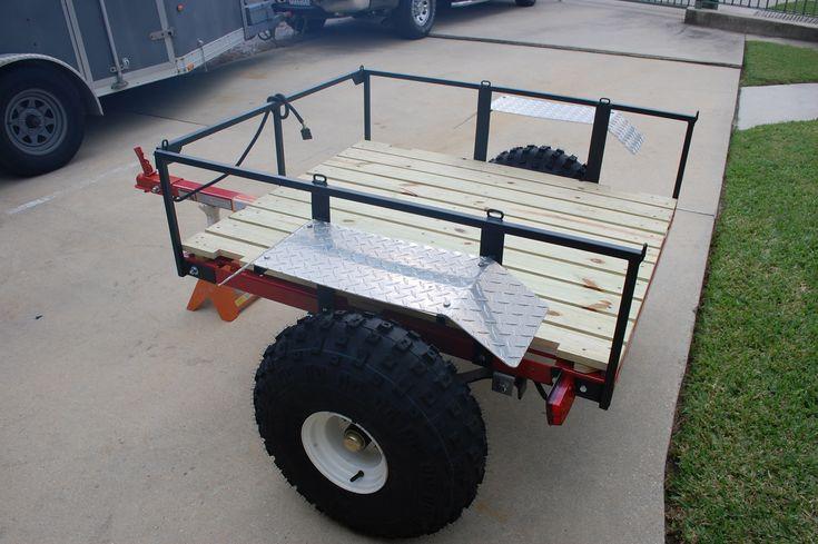 Homemade atv trailer images golf carts pinterest atv for Golf cart plans