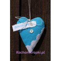Lawendowe serce dla Mamy I - kochamkropki-dzień matki