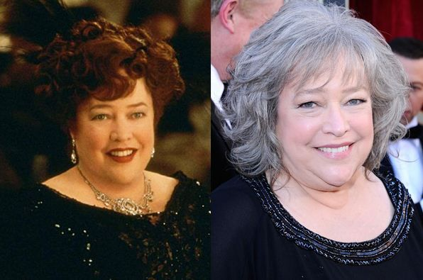 Kathy Bates the unsinkable Molly Brown.