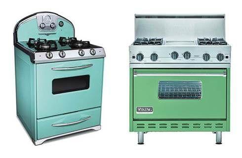 25 best vintage refrigerators images on pinterest retro - Cucina stile vintage ...