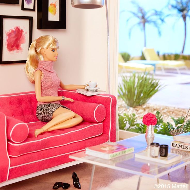 Home sweet home  I m so excited to share that I have moved into. Best 25  Barbie house tour ideas on Pinterest