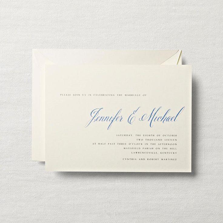 12 best Wedding Invitations images on Pinterest Wedding stationery - best of invitation letter format for embassy