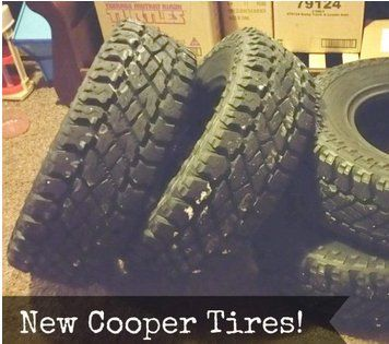 One person will win a set of Cooper Tires For their vehicle worth $1,000.00. Complete the form and submit for your chance.