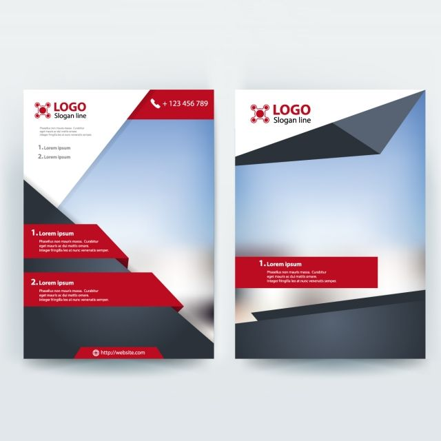 Corporative Business Flyer Brochure Vector Template Design Flyer Design Templates Brochure Design Template Flyer Template
