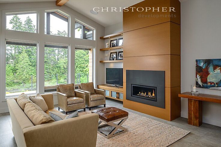 A west coast contemporary home designed and built by Christopher Developments, Victoria BC