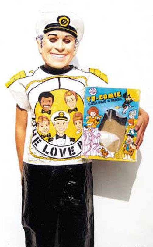 "I can't imagine any kid begging ""mom"" to buy a Gavin MacLeod/""Captain Merrill Stubing"" costume. But here it is. Hoo-ray, Hoo-ray, Hoo-ray!"