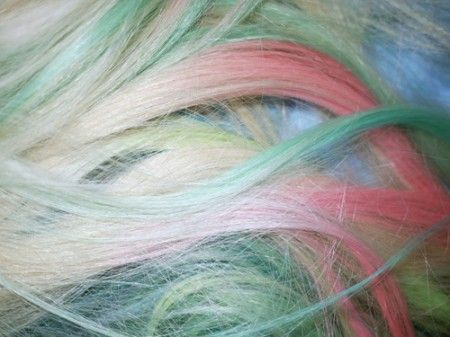 shampoo bleach - worked for me today to drastically change hair colors.  However I still used a 20 developer with Loreal bleach from Sallys.  After 2 uses I  was able to get my hair to a blonde enough to color. ; ): Cotton Candy, Hairs, Rainbows, Pastel Rainbow Hair, Pastel Colors, Pastel Pastel, Pastel Hair, Hair Color