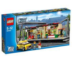 LEGO - City - La Gare - 60050  - marque : LEGO Jouets Garçon - LEGO - LEGO City... prix : 41.69 EURs €  chez Carrefour Online Jeux Jouets #LEGO #CarrefourOnlineJeuxJouets