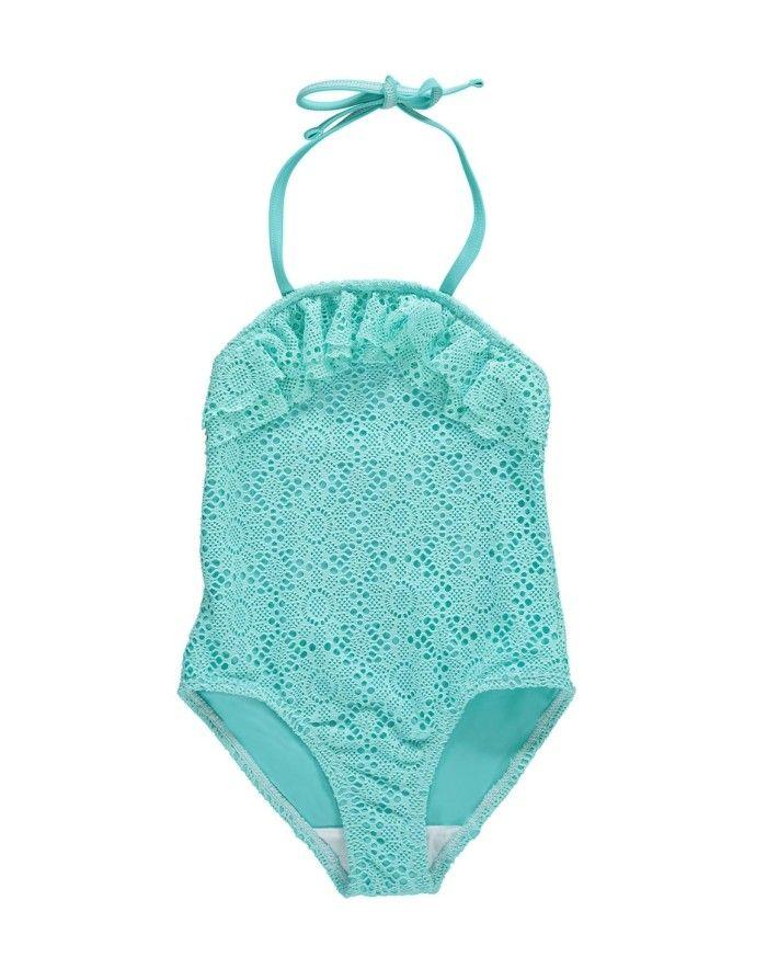 Aqua Mesh Swim Suit