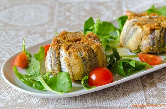 Tortino di alici e zucchine