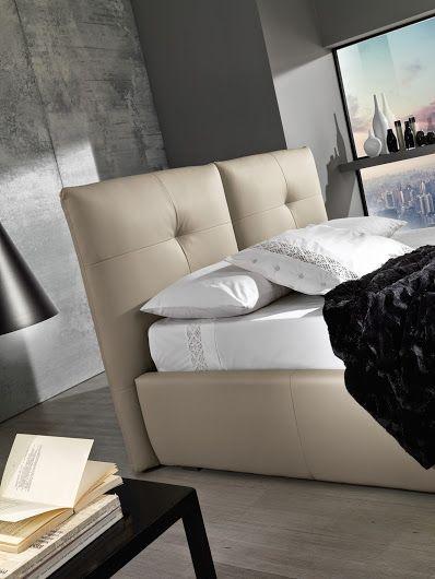 Un particolare della struttura del letto Omar.