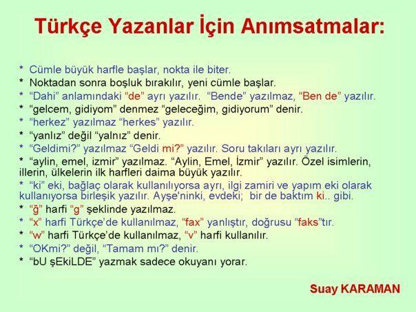 Turkce_Animsatmalar