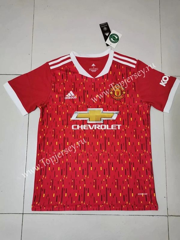 2020 2021 Manchester United Home Red Thailand Soccer Jersey Aaa In 2020 Soccer Jersey Soccer Pro Soccer
